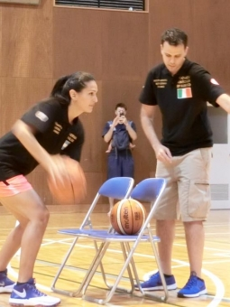 International basketball Clinic Japan 01